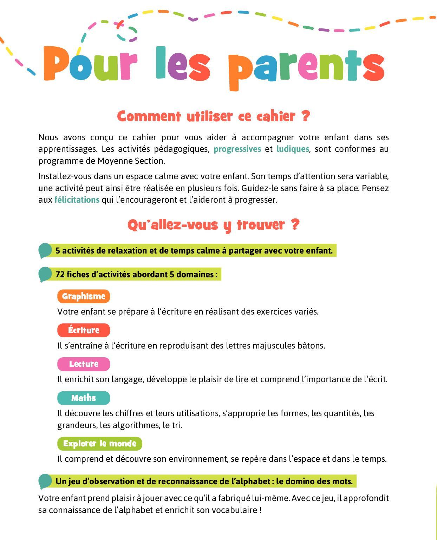 Bravo Les Maternelles Moyenne Section - Calameo tout Activité Moyenne Section