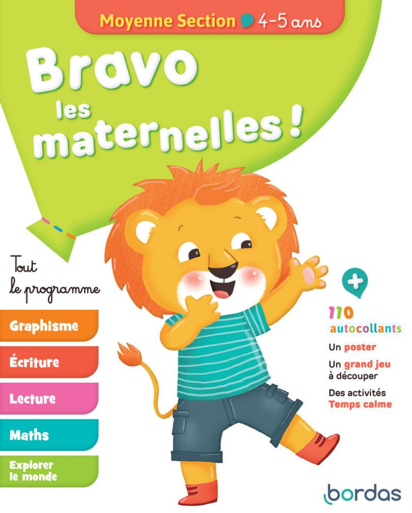 Bravo Les Maternelles ! - Moyenne Section (Ms) -Tout Le encequiconcerne Cours Moyenne Section Maternelle