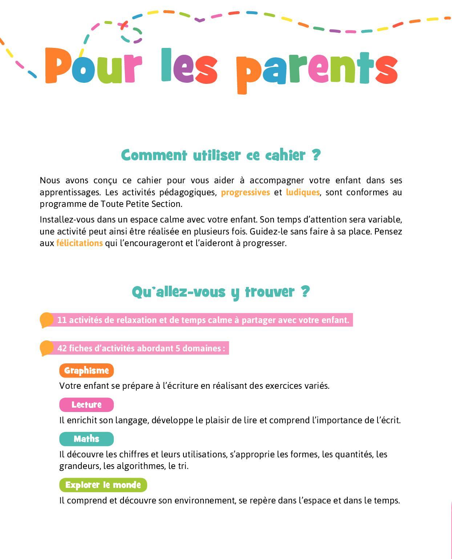 Bravo Les Maternelles Toute Petite Section - Calameo pour Exercice Toute Petite Section