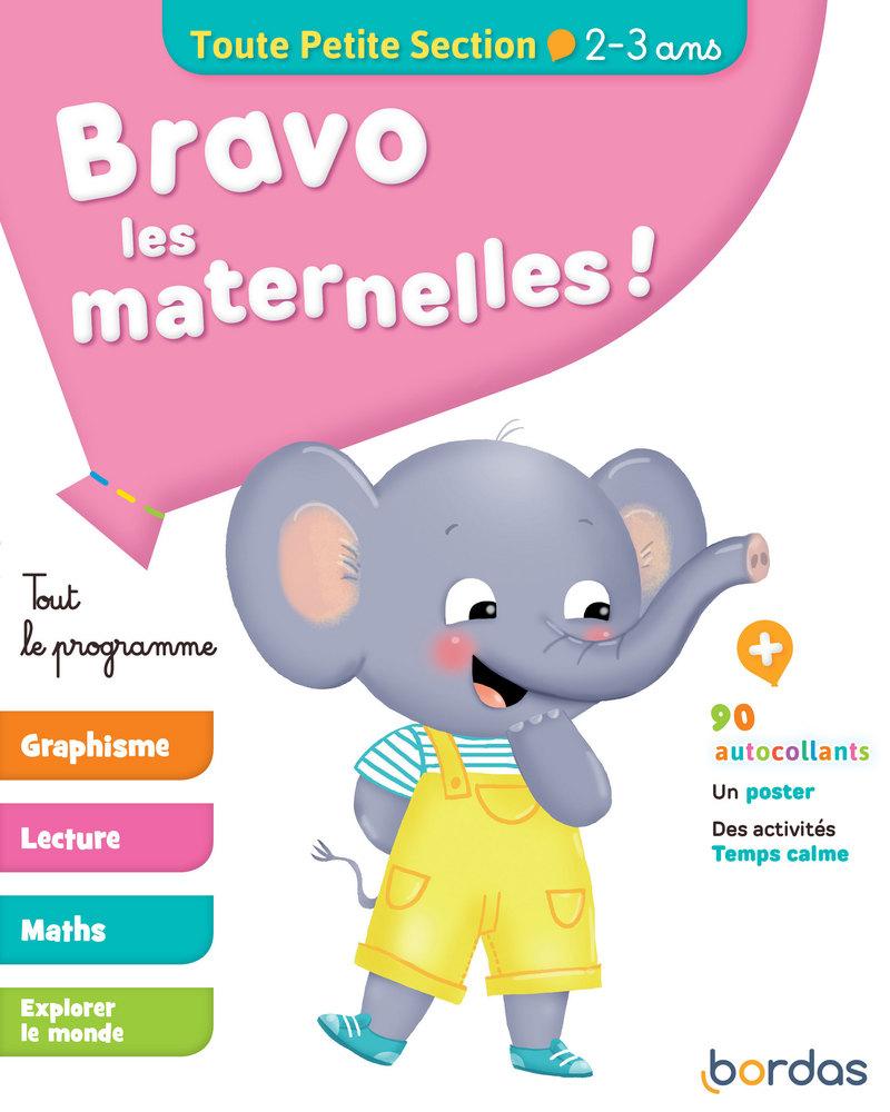 Bravo Les Maternelles ! - Toute Petite Section (Tps) - Tout destiné Exercice Toute Petite Section