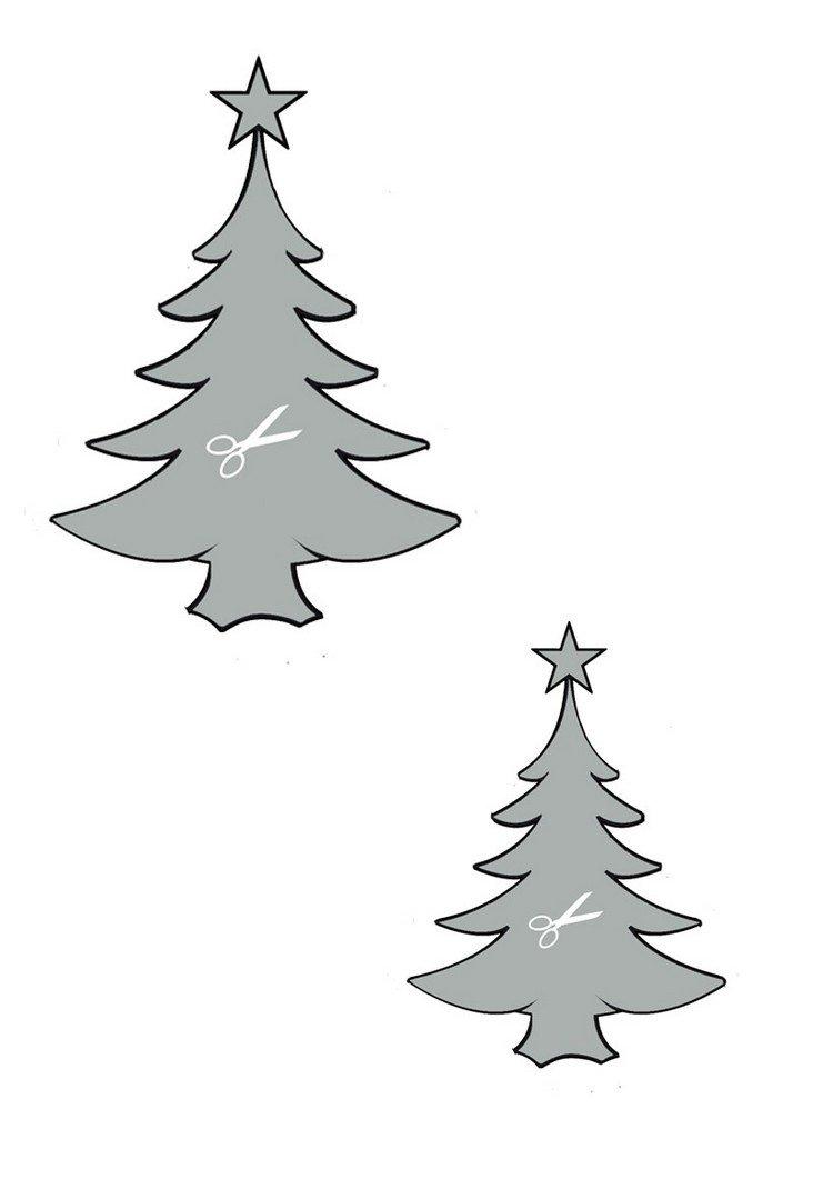 Bricolage De Noël Avec Les Enfants: 25 Dessins Cool tout Décorations De Noel À Imprimer