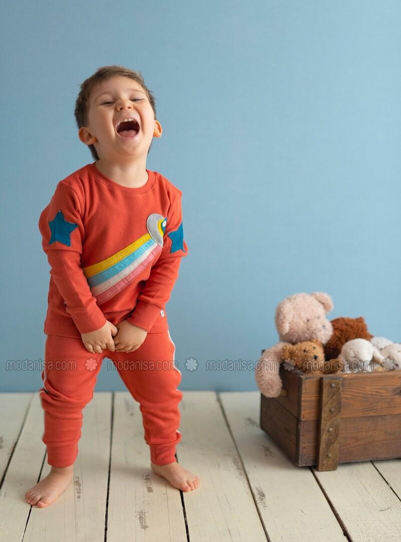 Brique - Pyjamas Pour Bébé tout Brique Pour Bebe
