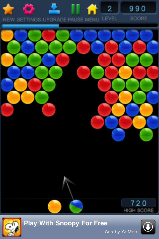 Bubble Shooter Free Pour Iphone - Télécharger avec Jeux Des Bulles