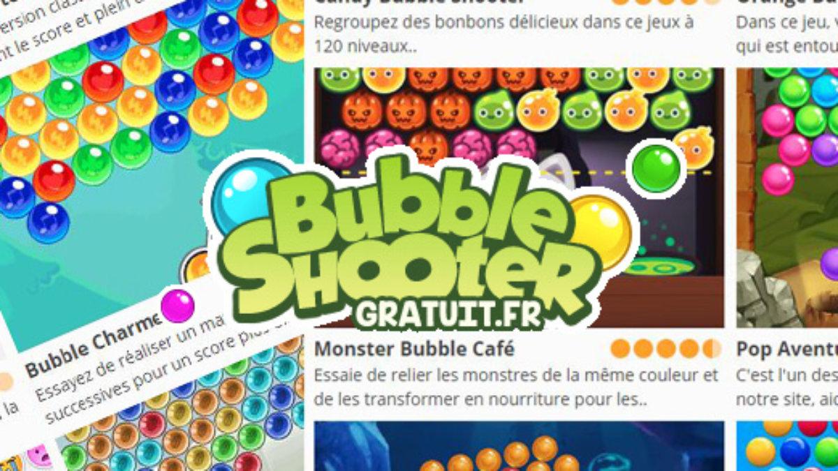 Bubble Shooter Gratuit : Éclatez Des Bulles Sur Votre tout Jeux Gratuits De Bulles