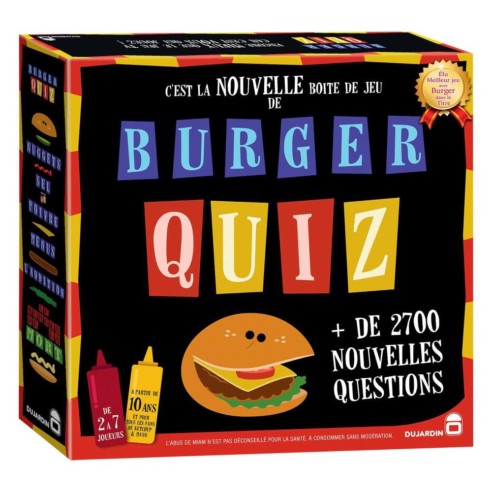 Burger Quiz dedans Quizz Enfant
