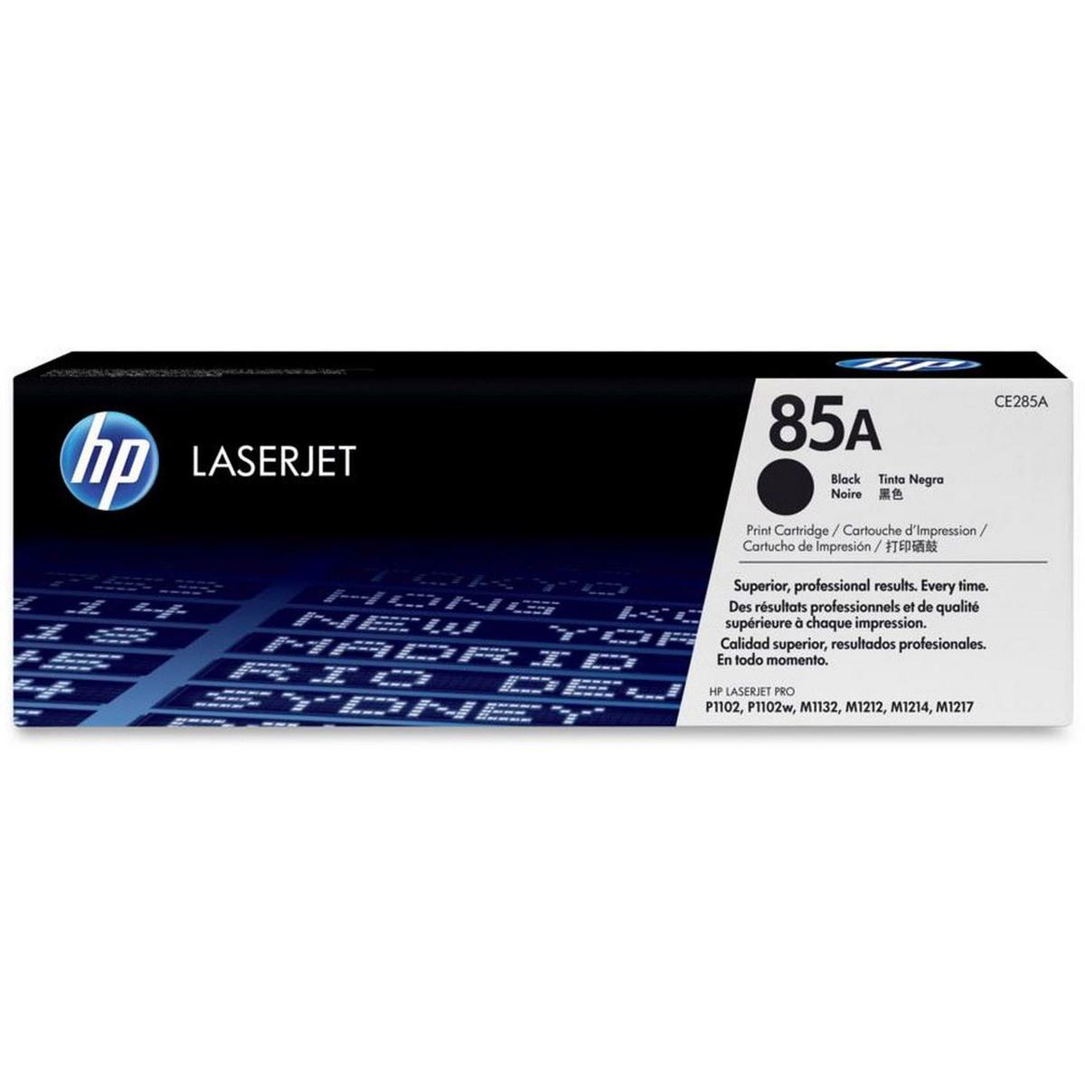 Buy Hp 85A Black Laserjet Toner Cartridge Ce285A Online avec Lulu Impression