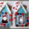 Cadre Photo Maison De Noel Déco De Sapin .. | Maison De Noel avec Activité Manuel De Noel