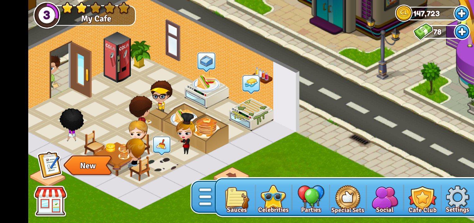 Cafeland 2.1.24 - Télécharger Pour Android Apk Gratuitement à Jeux De Manger Gratuit