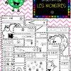 Cahier D'activités Des Monstres dedans Activité Maternelle Petite Section