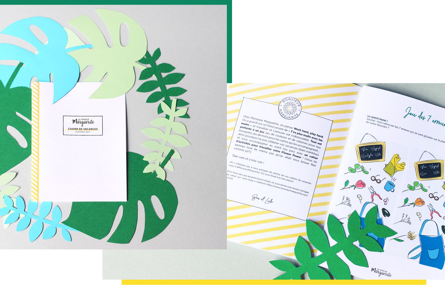 Cahier D'activités Et De Jeux Sur Les Fleurs: En à Cahier De Vacances À Télécharger Gratuitement