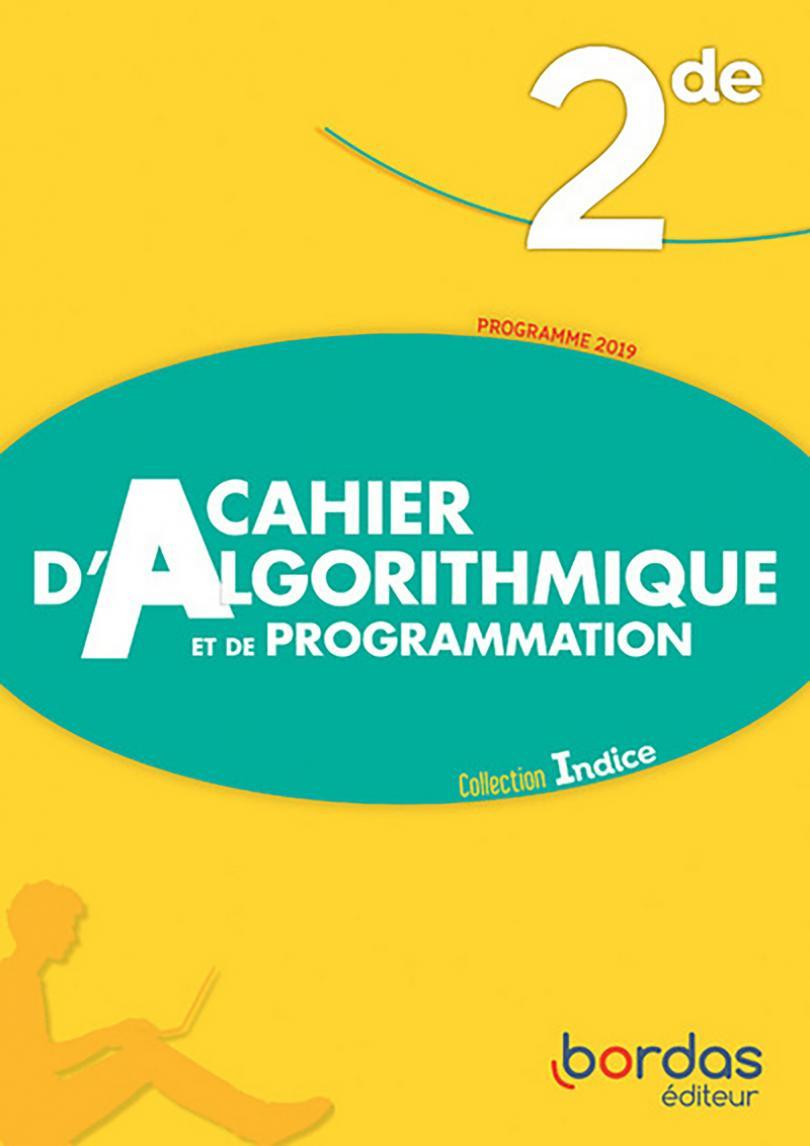 Cahier D'algorithmique Et De Programmation - Indice Maths intérieur Cahier De Vacances 1Ere S
