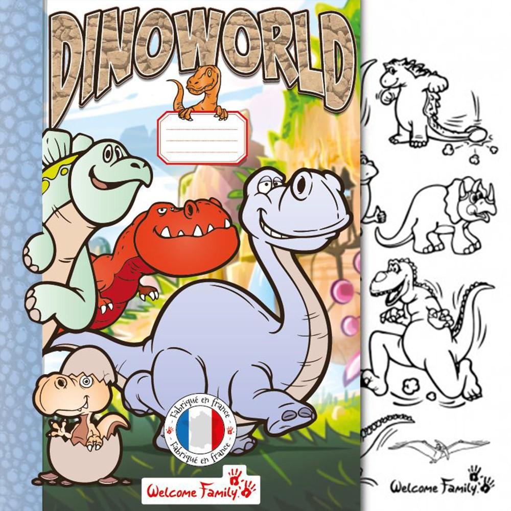 Cahier De Coloriage Dinosaures intérieur Cahier De Coloriage Enfant