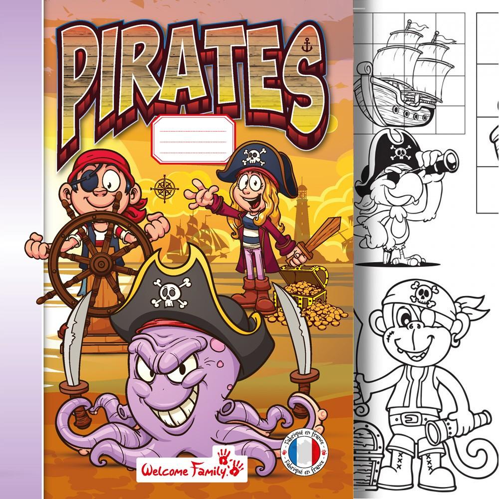Cahier De Coloriage Pirates à Cahier De Coloriage Enfant