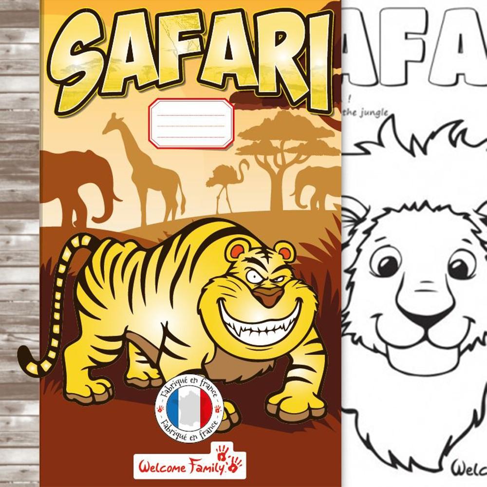 Cahier De Coloriage Safari serapportantà Cahier De Coloriage Enfant