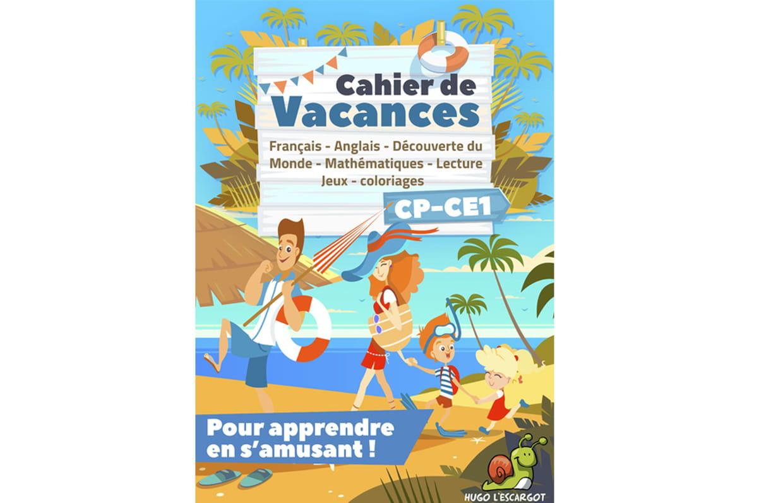 Cahier De Vacances Cp-Ce1 à Cahier De Vacances En Ligne