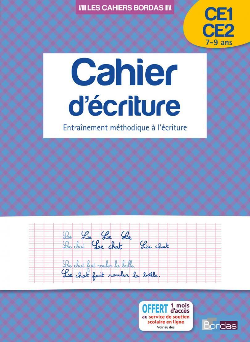 Cahier D'écriture Ce1/ce2 * Cahier D'activités/d'exercices tout Exercice De Ce2 En Ligne