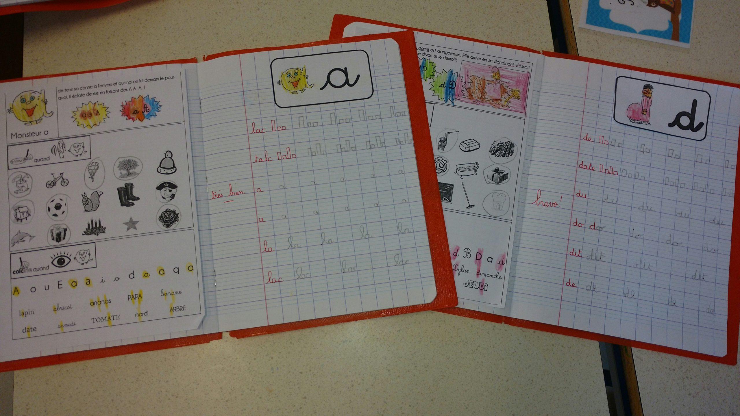 Cahier D'écriture Gs Évolution Janvier À Avril - La Classe dedans Cahier D Écriture Maternelle