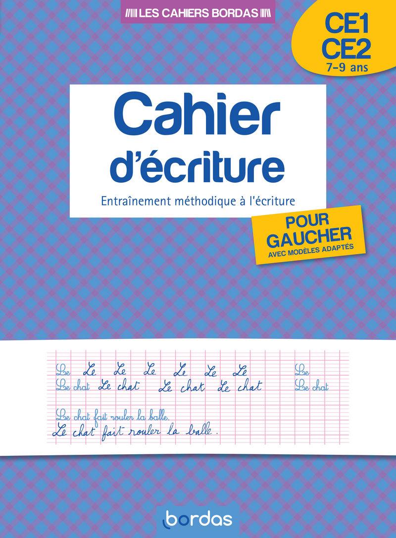 Cahier D'écriture Pour Gauchers Ce1/ce2 * Cahier D'activités serapportantà Ecriture Ce2 À Imprimer