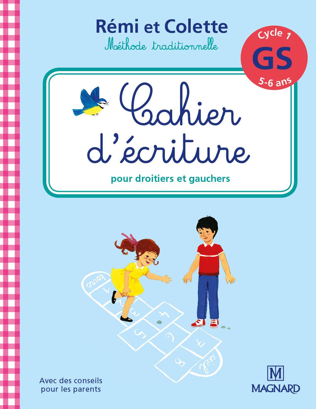 Cahier D'écriture Rémi Et Colette Gs | Magnard Parascolaire serapportantà Cahier D Écriture Maternelle