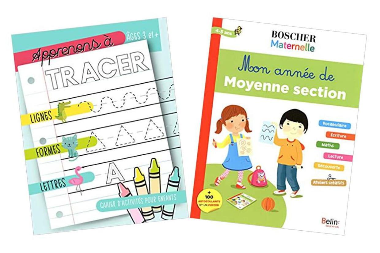 Cahier D'exercice, Coloriage, Lecture, Écriture : Occuper pour Exercice De Lecture Maternelle Grande Section