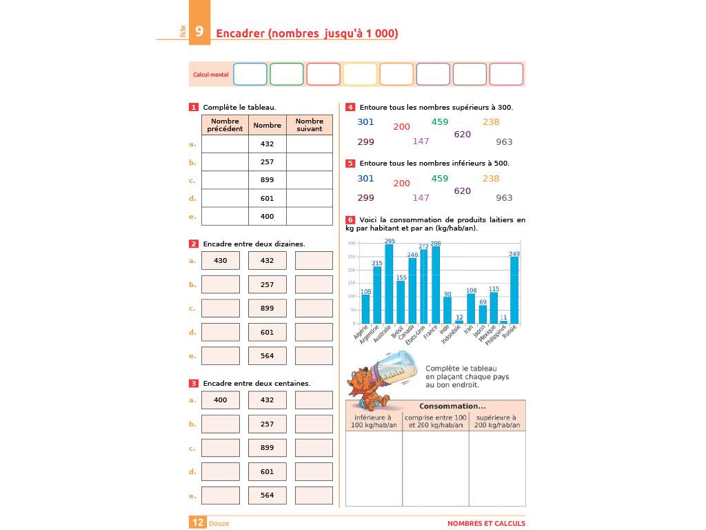 Cahier D'exercices Iparcours Maths Ce2 (Éd. 2018) tout Exercice De Ce2 Gratuit