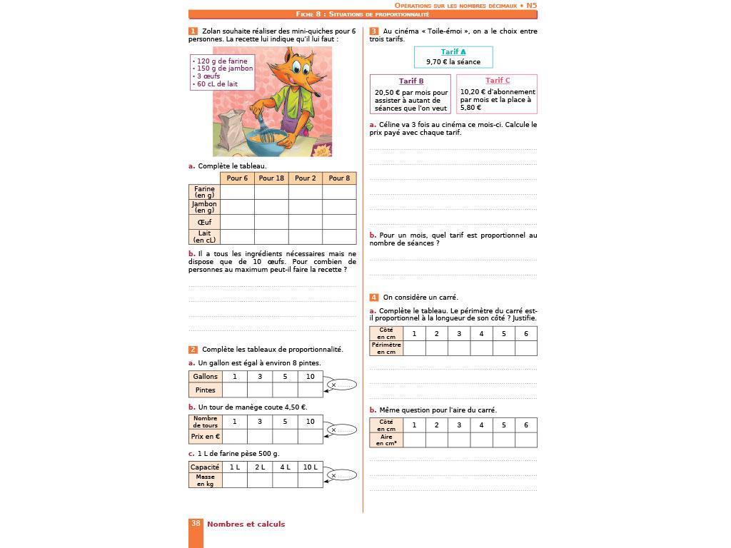 Cahier D'exercices Iparcours Maths Cm2 (Éd. 2017) destiné Exercice Gratuit Cm2