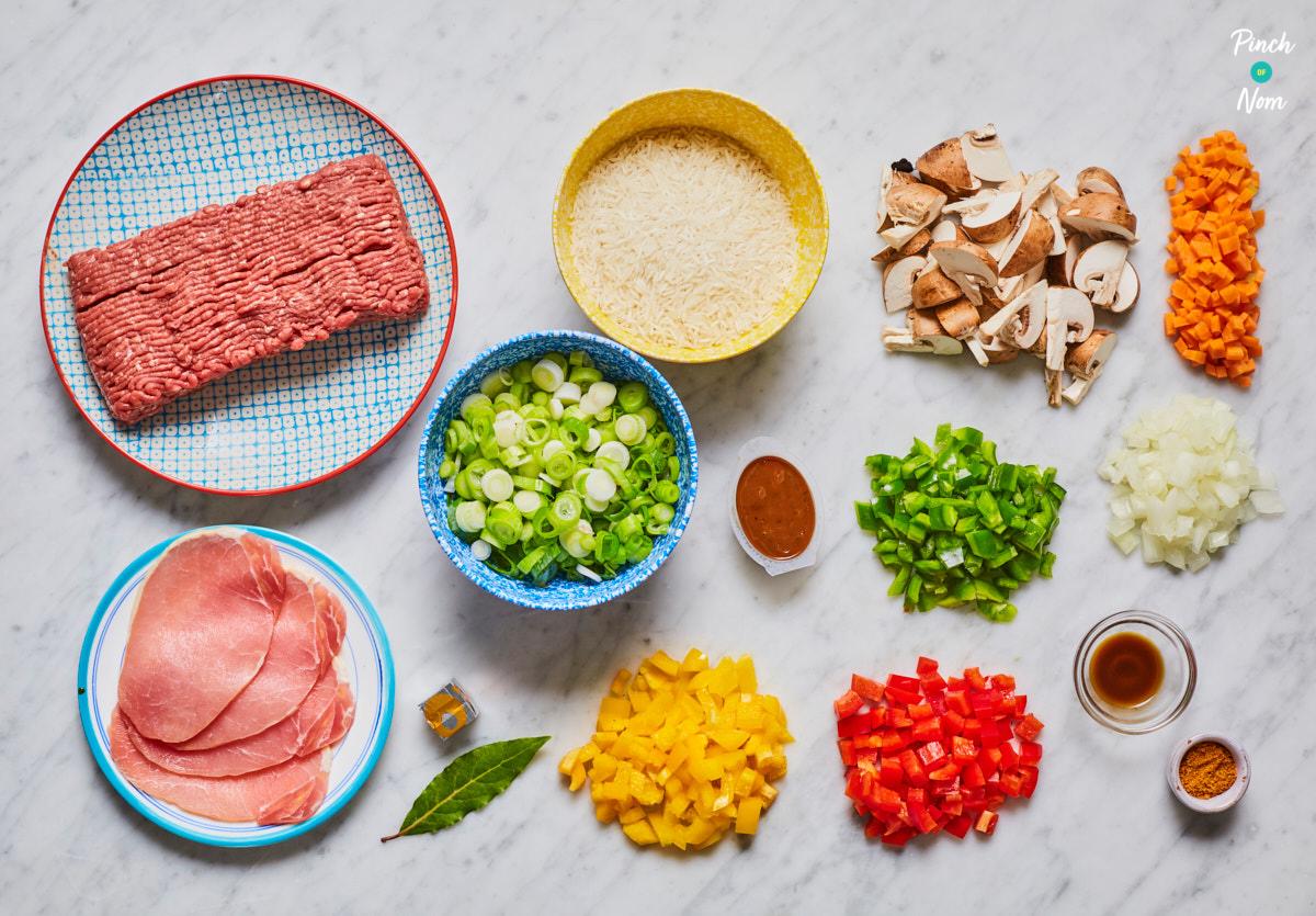 Cajun Dirty Rice - Pinch Of Nom pour Nom De Legume