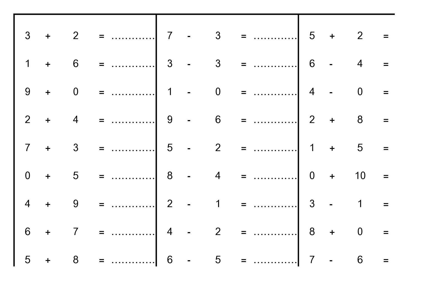 Calaméo - Cp : Mathématiques : Calcul (Exercice Simple encequiconcerne Exercice De Cp En Ligne
