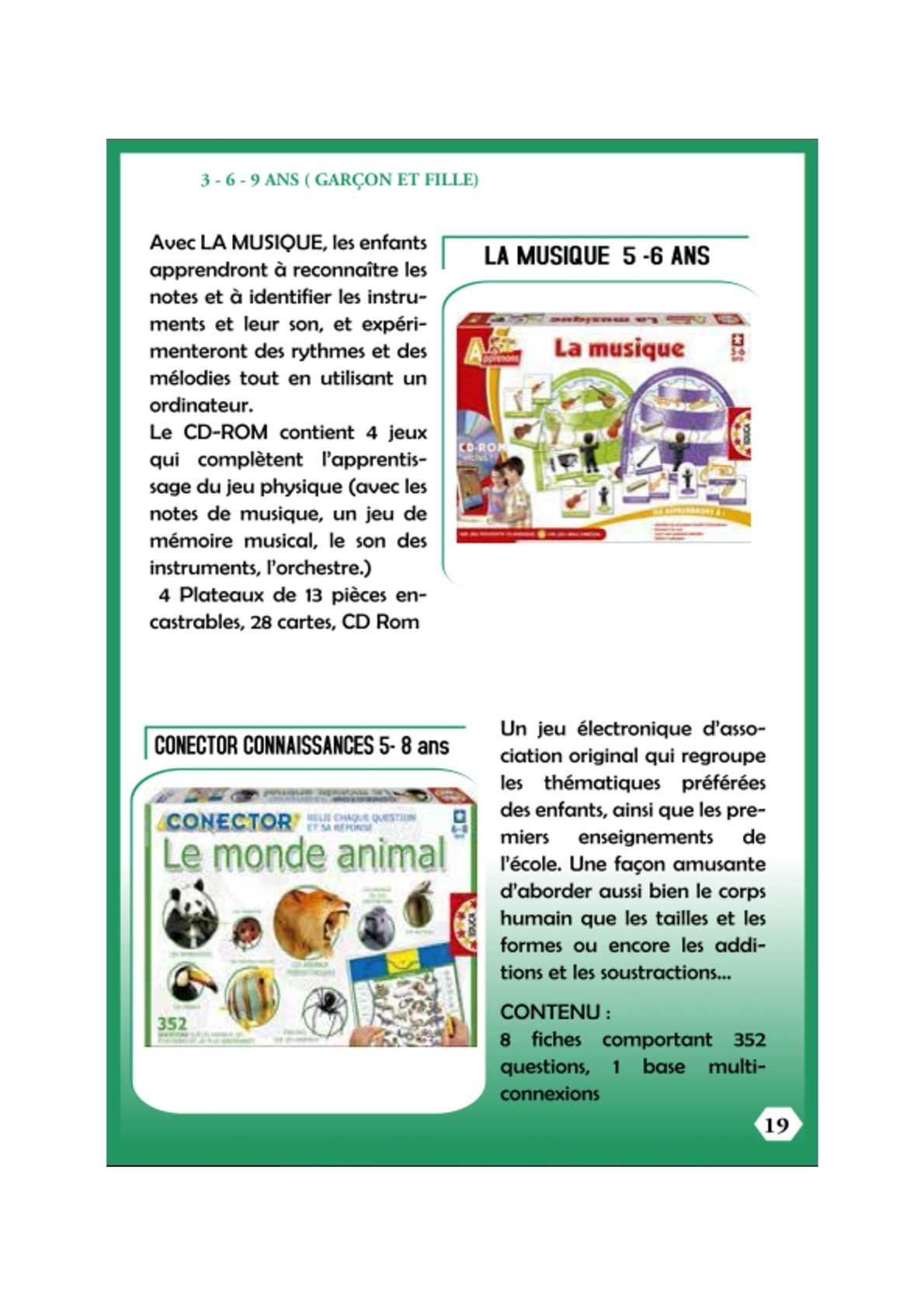 Calaméo - D19 à Jeux De Connaissance 3 4 Ans