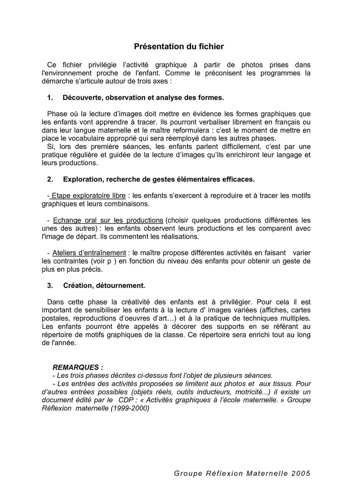 Calaméo - Fichier De Graphisme destiné Graphisme Les Vagues Moyenne Section