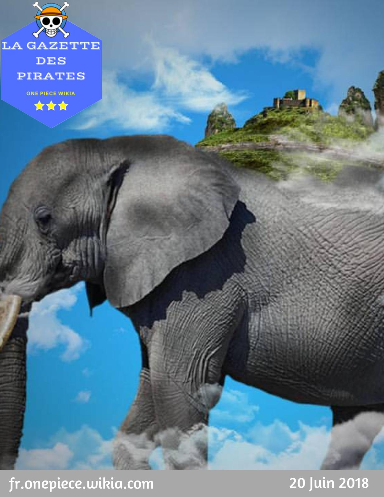 Calaméo - La Gazette Des Pirates #10 Zunesha concernant Barrissement Elephant