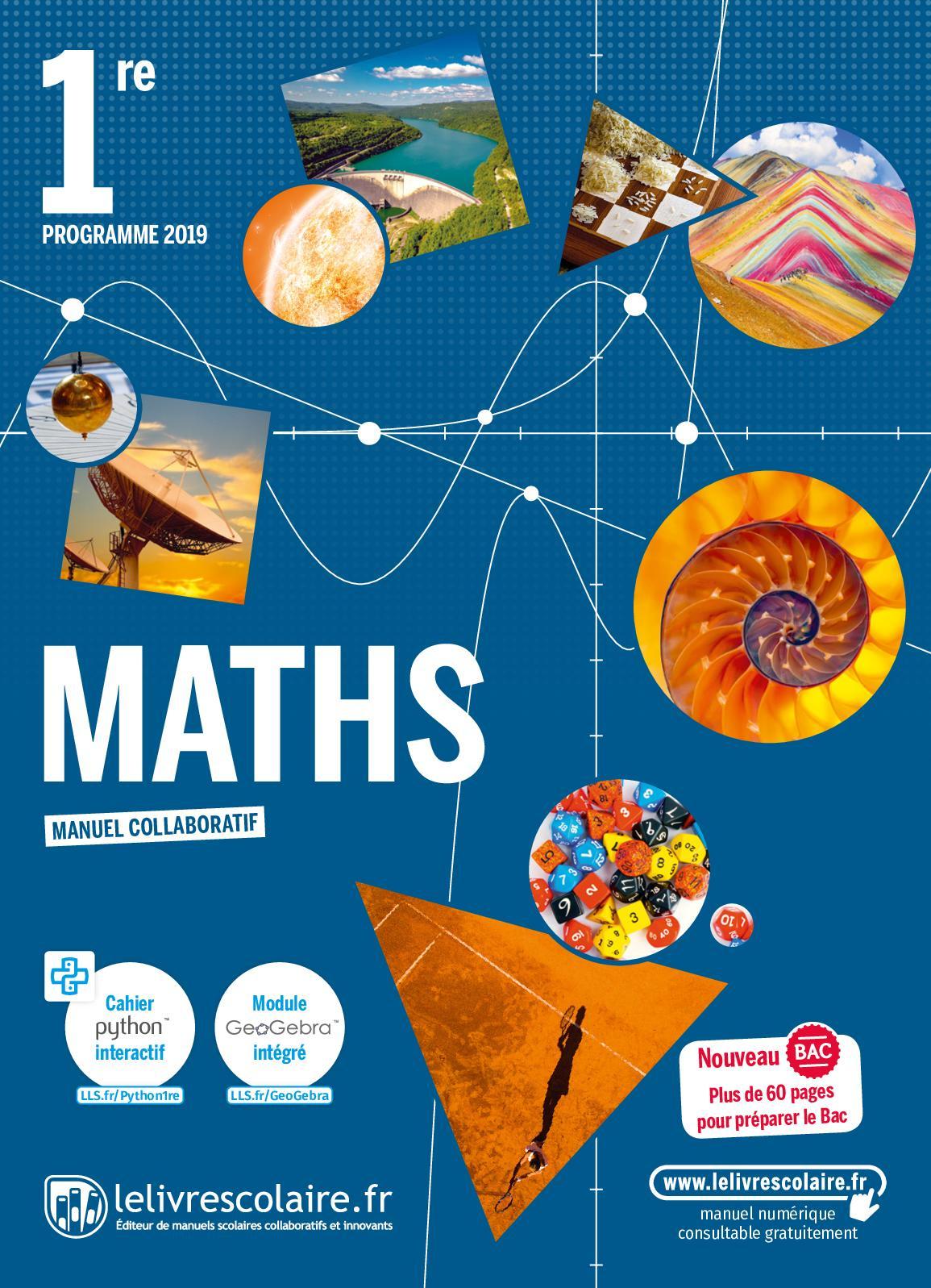Calaméo - Math 1Re dedans Cahier De Vacances 1Ere S
