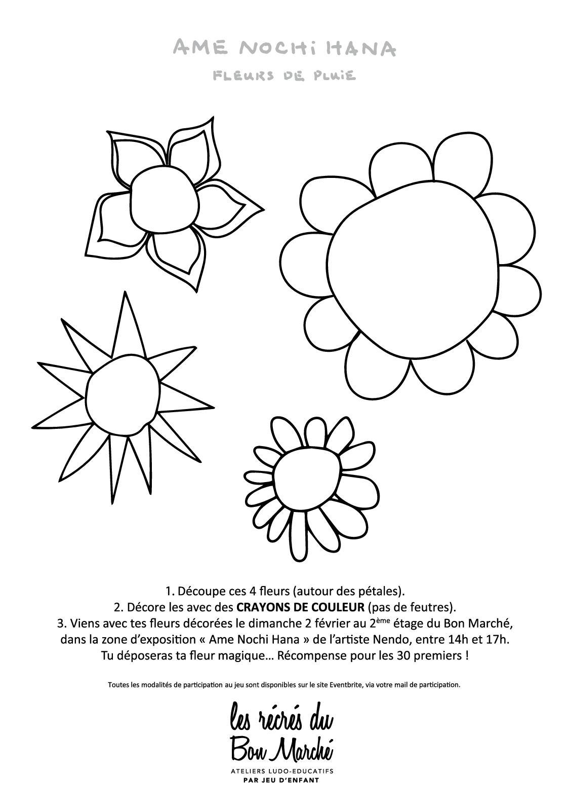 Calaméo - Modele De Fleurs À Découper serapportantà Fleurs À Découper