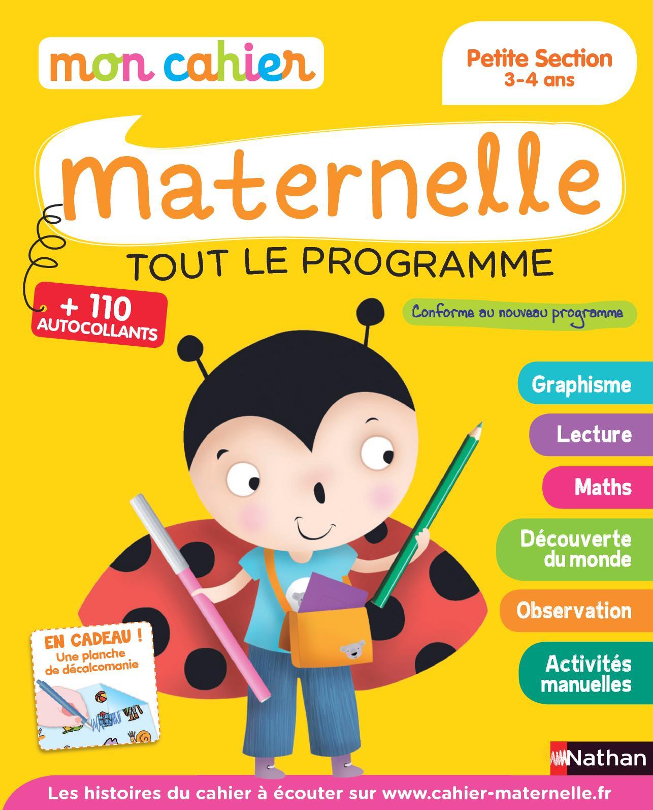 Calaméo - Mon Cahier Maternelle 3-4 Ans encequiconcerne Activité Ludique Maternelle