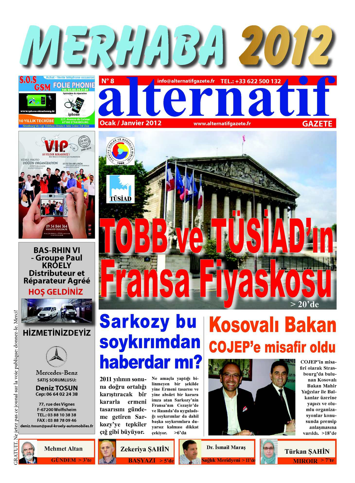 Calaméo - Ocak/janvier N°8 2012 pour Sudoku Facile Avec Solution
