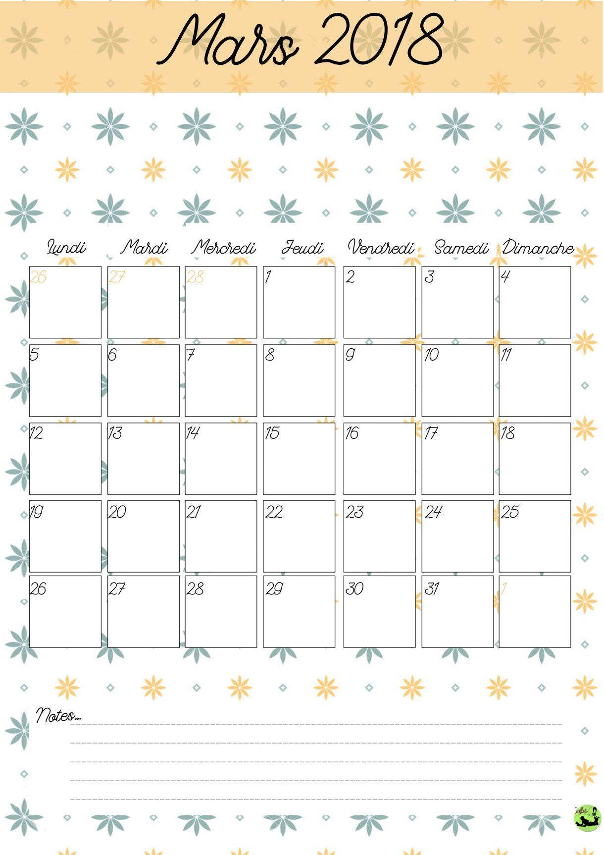 Calendrier 2017-2018 (Gratuit, À Imprimer) | | Calendrier tout Imprimer Un Calendrier 2017