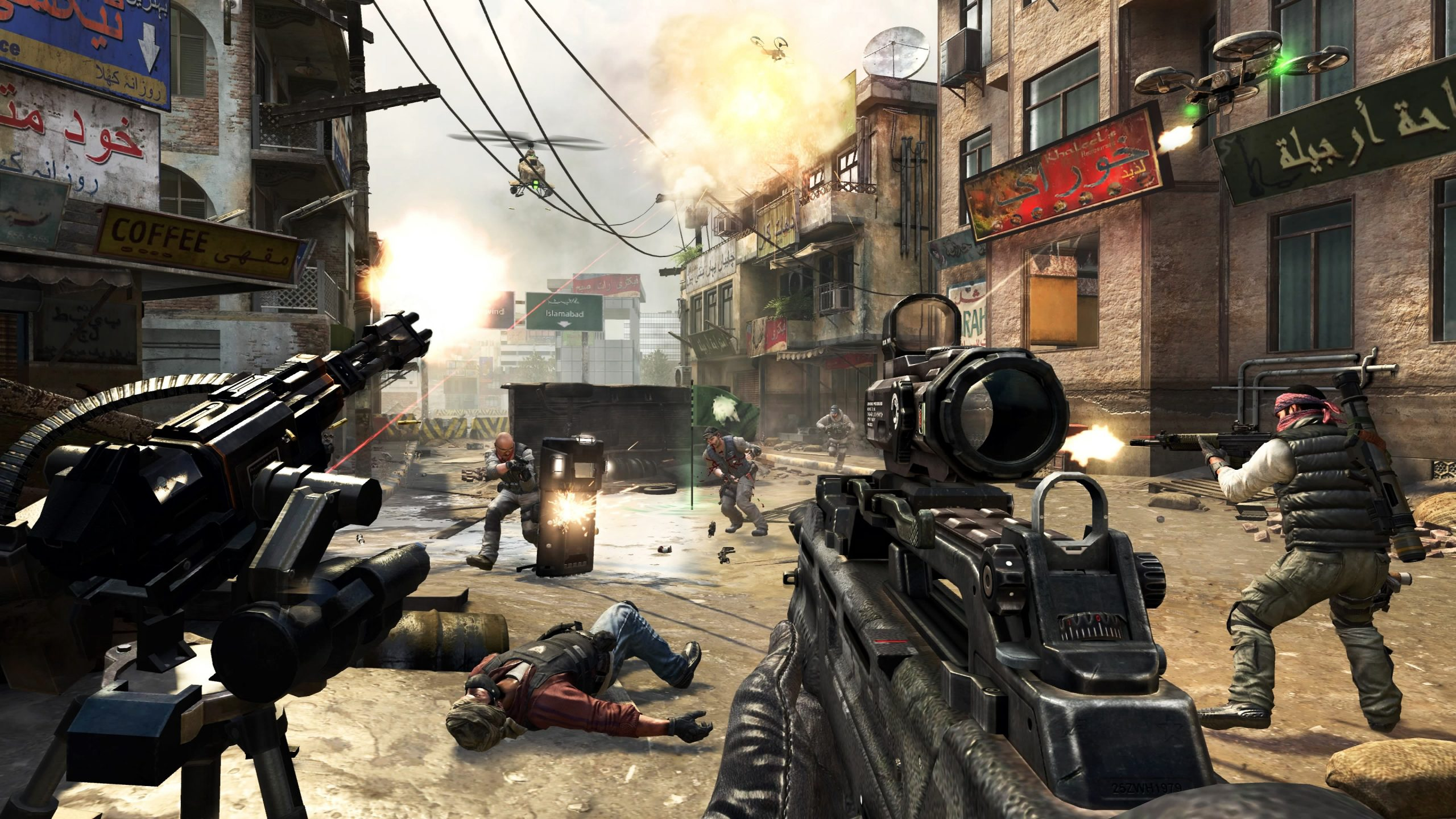 Call Of Duty Black Ops 2 Pc Gratuit - Call Of Duty Black Ops pour Jeux De Tire Gratuit