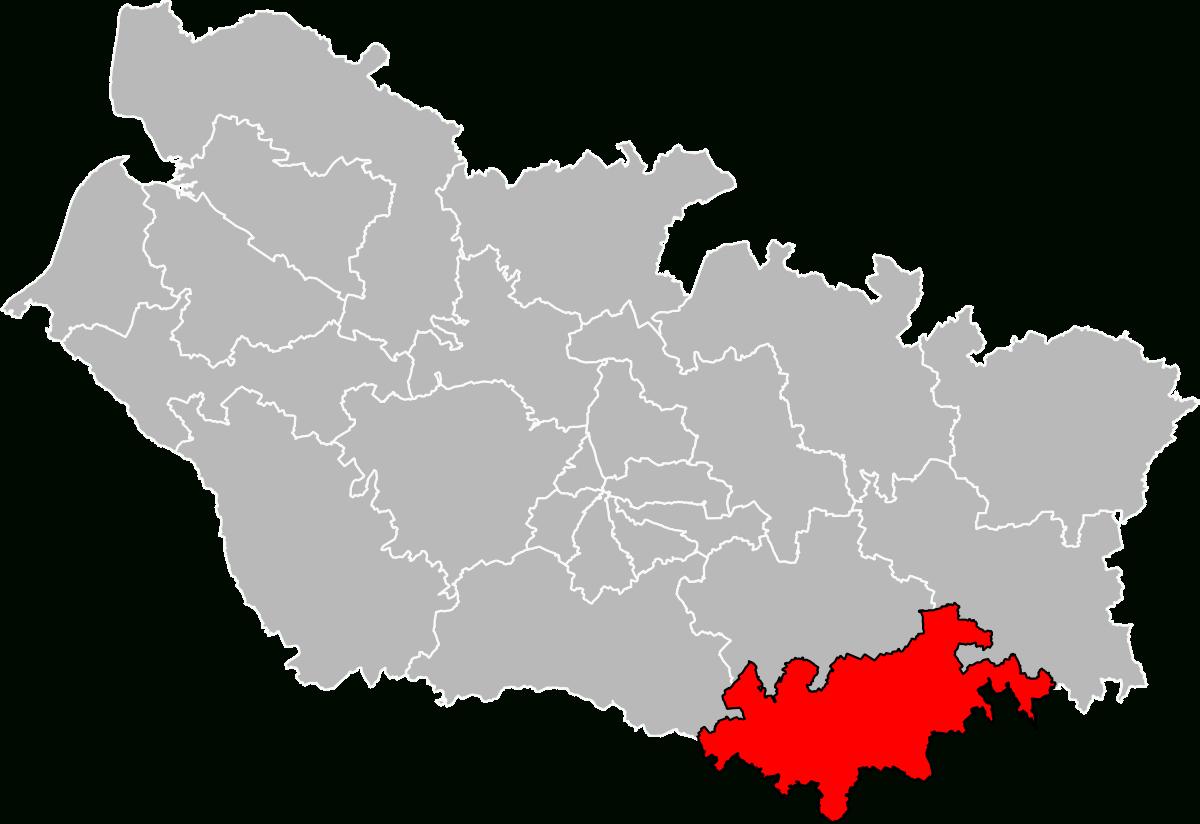 Canton De Roye — Wikipédia avec Puzzle Departement