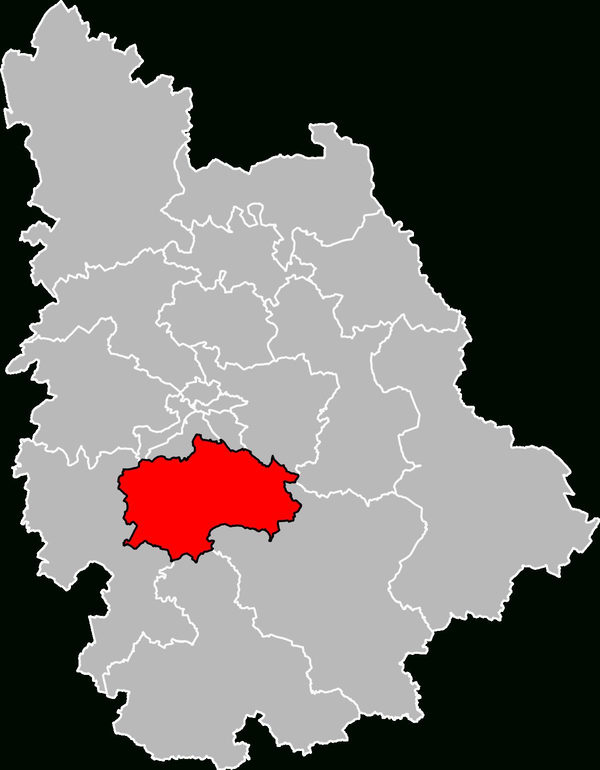 Canton Of Vivonne - Wikidata pour Puzzle Departement
