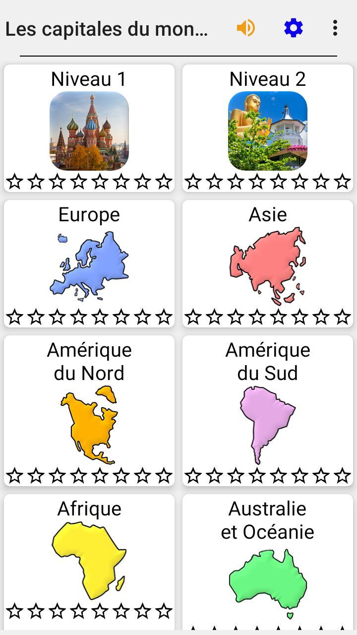 Capitales De Tous Les Pays Du Monde - Le Quiz Pour Android serapportantà Pays Et Leurs Capitales