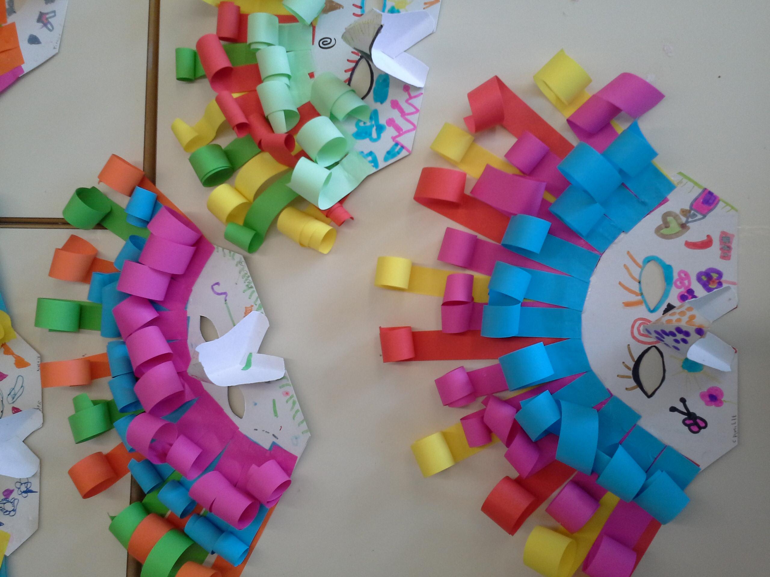 Carnaval : Des Masques ! - La Maternelle Me Donne Des Ailes pour Masque Maternelle