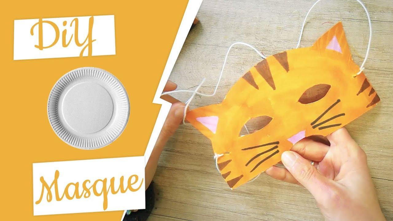 Carnaval : Fabriquer Un Masque Chat encequiconcerne Masque Carnaval Maternelle À Imprimer