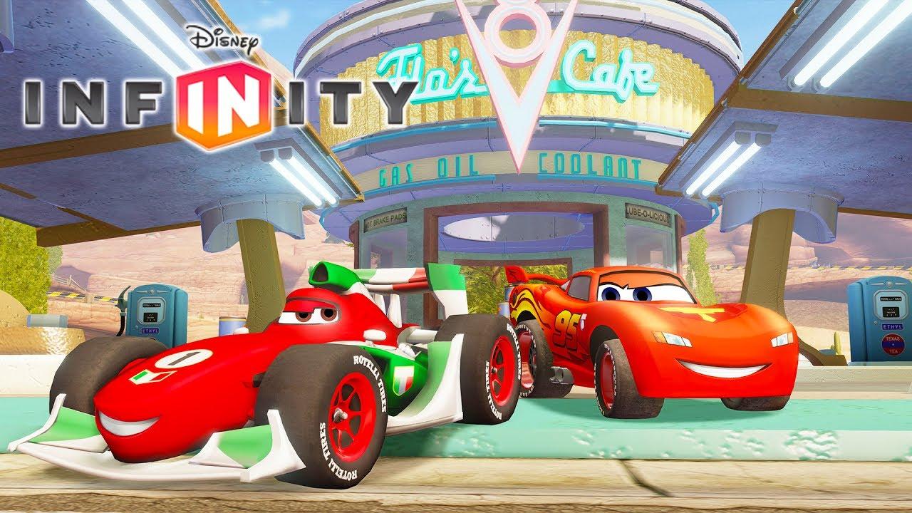 Cars Flash Mcqueen Jeux Vidéo En Français Voitures De Course - Disney  Infinity à Jeux De Bébé Virtuel
