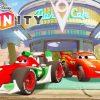 Cars Flash Mcqueen Jeux Vidéo En Français Voitures De Course - Disney  Infinity destiné Jeux De Fille Gratuit Voiture