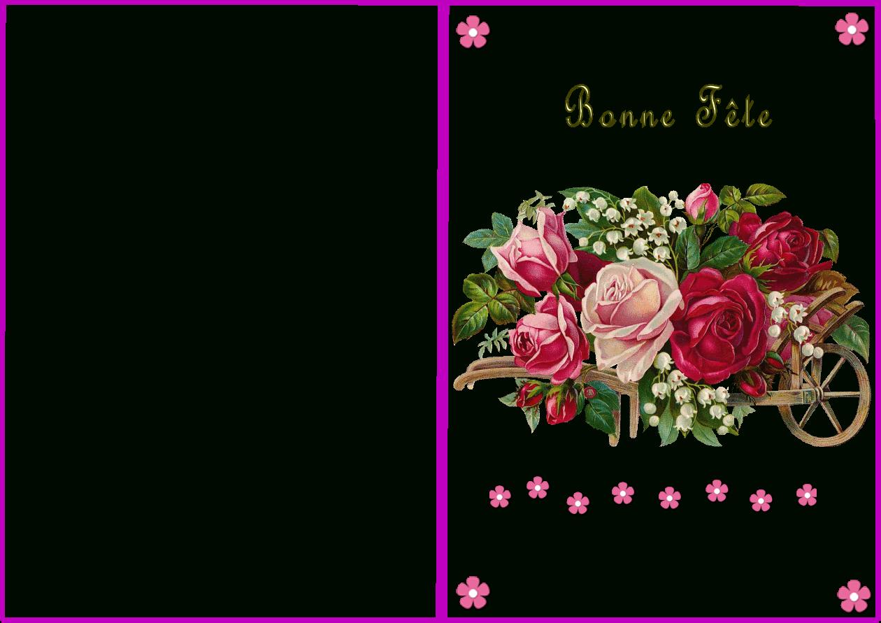 Carte À Imprimer Bonne Fête intérieur Carte Bonne Fete Maman A Imprimer