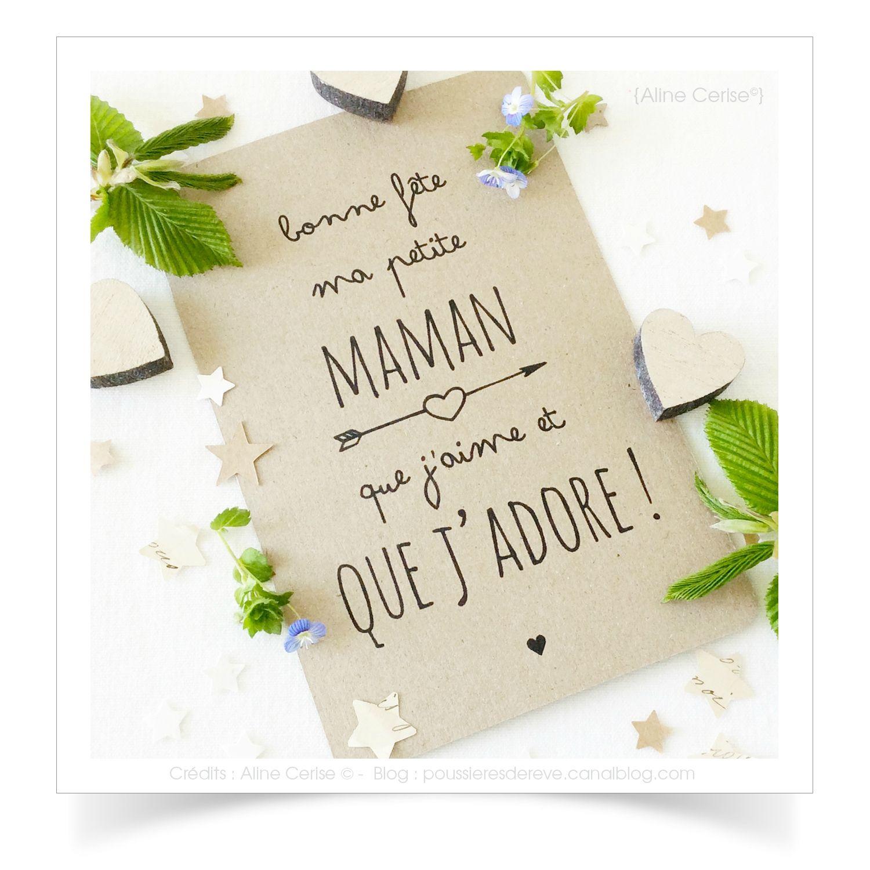 Carte-Bonne-Fete-Maman | Carte Bonne Fete, Carte Bonne Fete avec Carte Bonne Fete Maman A Imprimer