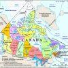Carte Canada, Carte De Canada tout Carte Vierge À Imprimer