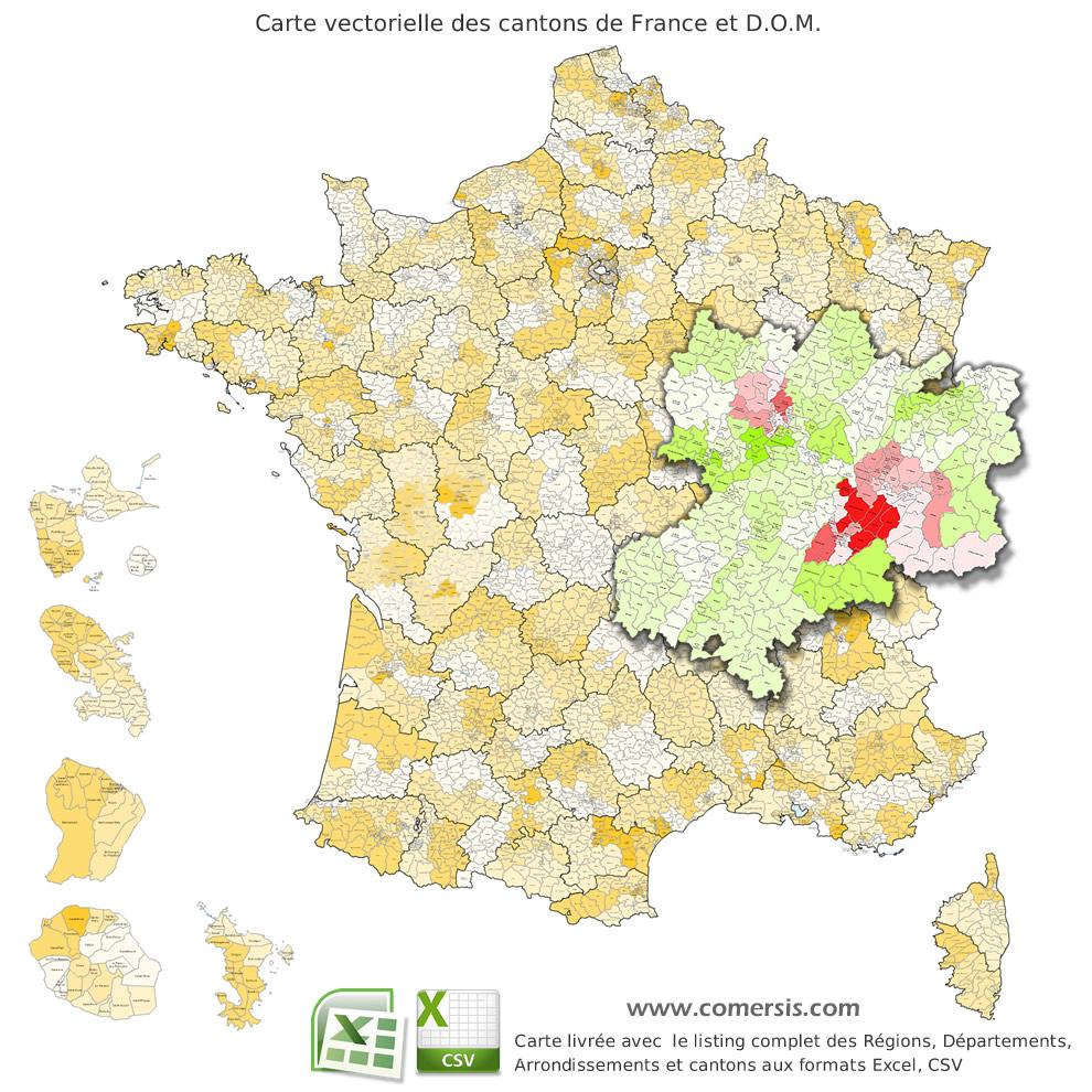 Carte De France avec Carte Des Départements D Ile De France