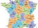 Carte De France Avec Les Régions à Carte Des 22 Régions