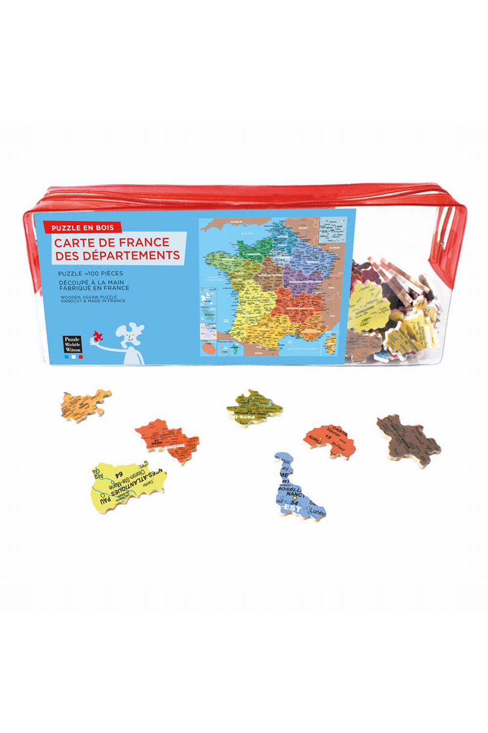 Carte De France Departement - tout Puzzle Departement